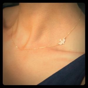 Side Dove Necklace